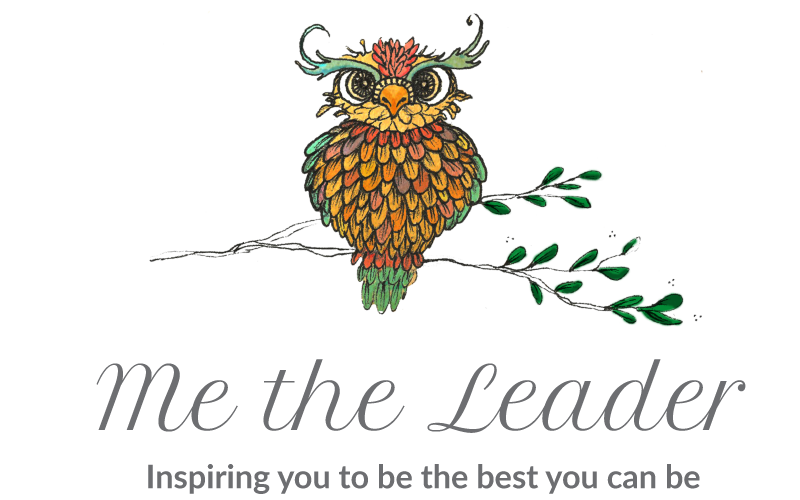 Me the leader - inspiring you to be the best you can be logo. Exeter leadership training & people development